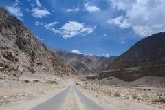 Droga na górach Zdjęcia Stock