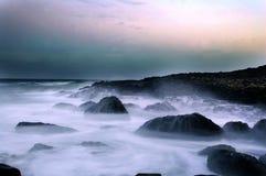 droga na grobli giganty Ireland północny Zdjęcie Royalty Free