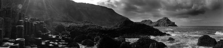 droga na grobli giganty Ireland północny Obrazy Stock