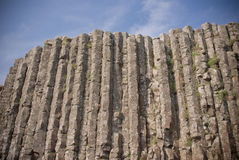 droga na grobli gigantyczny Ireland północny s Obrazy Royalty Free