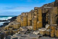 droga na grobli gigantyczny Ireland północny s Zdjęcia Royalty Free