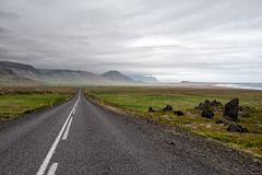 Droga na Snaefellsnes 54, Iceland Obraz Stock