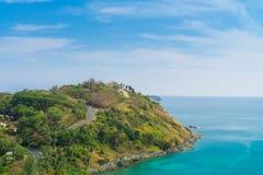 Droga na wyspie obraz royalty free