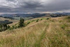 Droga na wzgórzu Zdjęcie Stock
