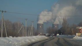 Droga park przemysłowy zdjęcie wideo