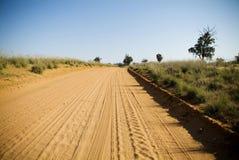 droga piaskowata Obrazy Stock