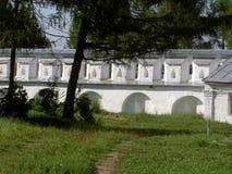 Droga polna antyczne ściany stary monaster Obraz Royalty Free