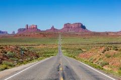 Droga Pomnikowa dolina, Utah, usa Zdjęcie Royalty Free