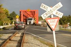 Droga poręcza most Zdjęcie Royalty Free