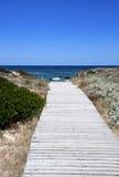 droga przemian morze zdjęcie royalty free