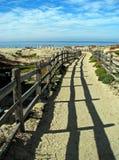 Droga przemian ocean na Monterey zatoce Zdjęcie Royalty Free