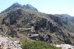 Droga przez góry Zdjęcie Royalty Free