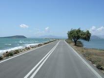 Droga przez morza zdjęcie royalty free