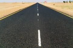 Droga przez sahary w Sudan Fotografia Royalty Free
