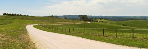 Droga przez wsi obraz stock