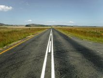 Droga przez wsi Obrazy Royalty Free