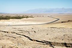 Droga przy Śmiertelną doliną Zdjęcie Stock