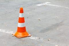 Droga rożek na asfalcie Fotografia Royalty Free