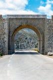 Droga Sa Calobra w Serra De Tramuntana - góry w Mallorc Obrazy Stock