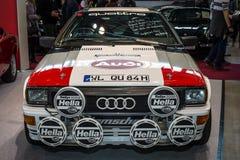 Droga samochodowy Audi Quattro i wiec Obrazy Stock