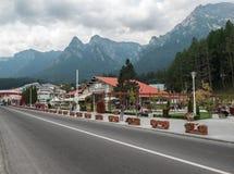 Droga Transilvania Zdjęcie Stock