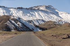 Droga w atlant górach Zdjęcia Stock
