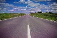 Droga w chmurach Zdjęcia Stock