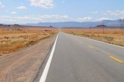 Droga w Dolina Pomnikowym Parku Obraz Royalty Free