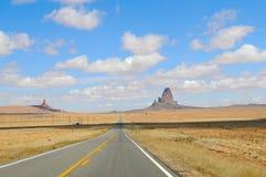 Droga w Dolina Pomnikowym Parku Ja Obraz Royalty Free
