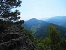 Droga w górach obrazy royalty free