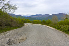 Droga w górach obraz royalty free