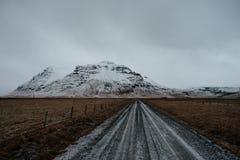 Droga w Iceland obraz stock