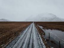 Droga w Iceland fotografia stock