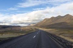 Droga w Iceland Zdjęcie Stock