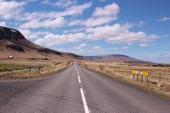 Droga w Iceland obraz royalty free