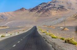 Droga w Iran Zdjęcie Stock
