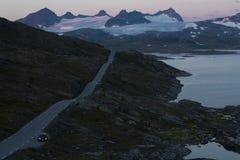 Droga w Jotunheimen parku narodowym zdjęcia royalty free