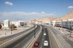 Droga w mieście Nizwa, Oman Fotografia Royalty Free