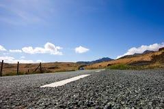 Droga w obszarze wiejskim Fotografia Stock