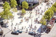 Droga w Paryż Obrazy Royalty Free