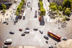 Droga w Paryż Obraz Royalty Free