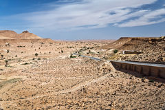 Droga w pustyni Sahara Fotografia Royalty Free