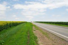 Droga w Rosja zdjęcia stock