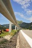 Droga w Tyrolean Alps Zdjęcia Stock