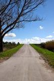 Droga w wsi Fotografia Royalty Free