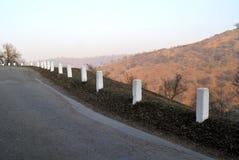 Droga w wzgórzach Zdjęcia Royalty Free