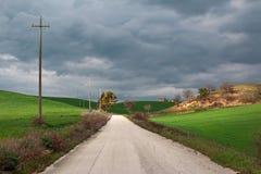 Droga w zieleni Obrazy Stock