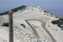 Droga wierzchołek Zdjęcia Stock
