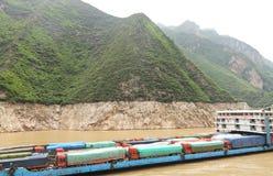 Droga wodna transport Zdjęcia Royalty Free