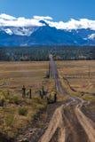 Droga Wspinać się Sneffels, San Juan góry, Ouray okręgu administracyjnego SW Colo Obrazy Royalty Free